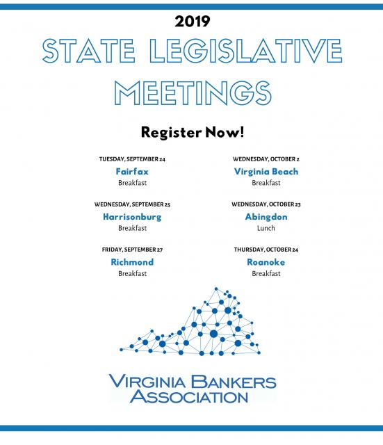 State Legislative Meetings Register Now Flyer